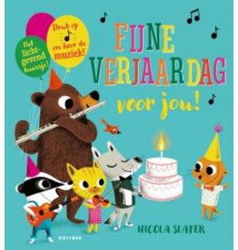 Kartonboek Fijne verjaardag voor jou!