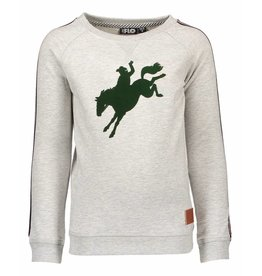 Like Flo Like Flo Raglan Sweater with print mt 152