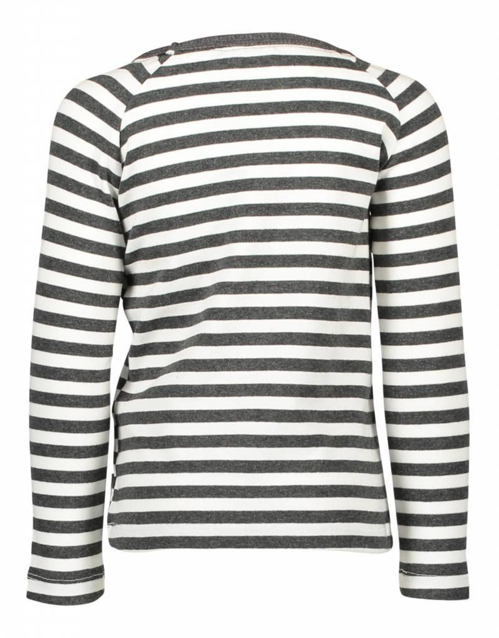 Like Flo Like Flo Raglan Striped Colourblock Tee