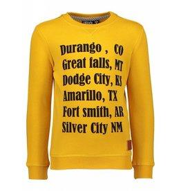 Like Flo Like Flo Sweater with Print Yellow