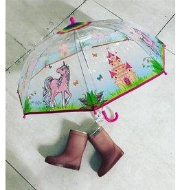 Schones Schenken Paraplu Unicorn transparant