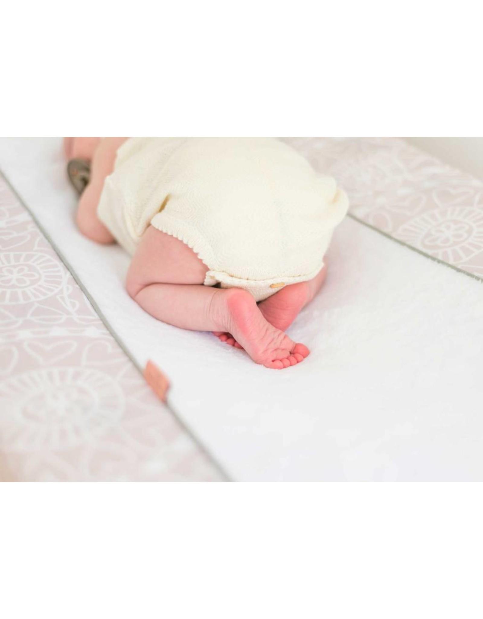 Witlof for Kids Witlof for Kids Aankleedkussenhoes Little Lof Misty Pink