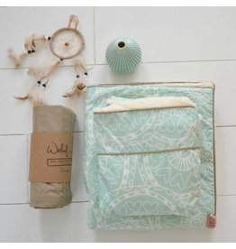 Witlof for Kids Witlof for Kids Tuck-Inn Ledikantdeken Little Lof Mint