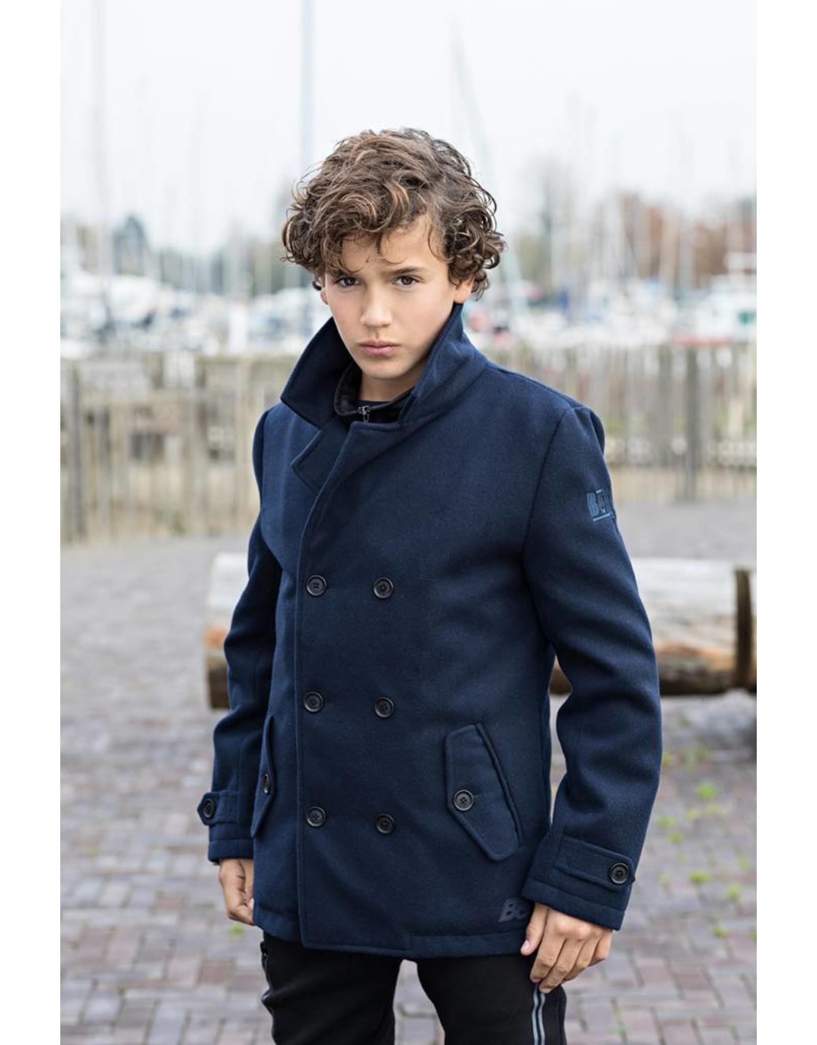 Bellaire Bellaire Buzz Wool Coat Navy Blazer