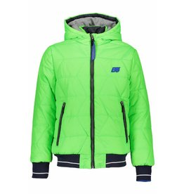 Bellaire Bellaire Byte Short hooded Jacket Apple Green