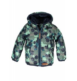 Moodstreet Mini Moodstreet Mini Short hooded Coat Boys Army