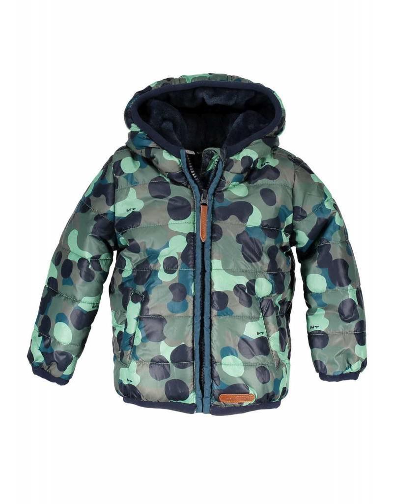72470315fdef63 Moodstreet Mini Moodstreet Mini Short hooded Coat Boys Army ...