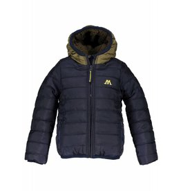 Moodstreet Moodstreet Short Hooded Coat Boys Navy