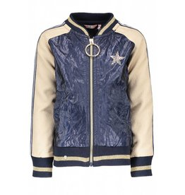 NONO NONO Diamond Crushed Imitation Leather Indoor Jacket