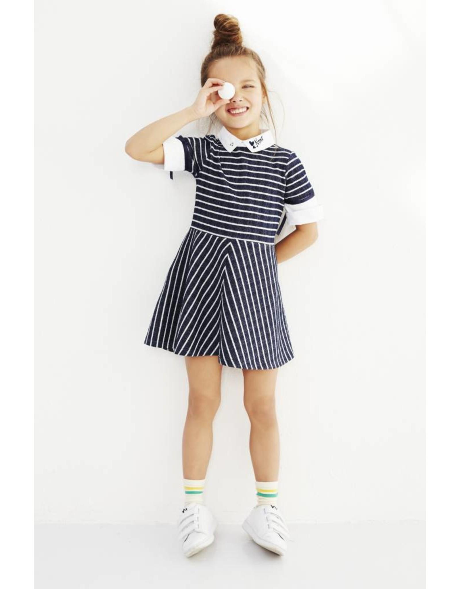 NONO NONO Maura Striped Dress mt 146/152
