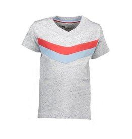 Moodstreet Moodstreet T-shirt Chest detail Jeans