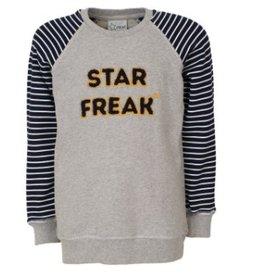 Starfreak Starfreak Sweat Print Punto Grey/Melee