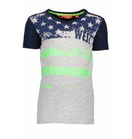 "TYGO & Vito TYGO & Vito T-shirt "" STARS & STRIPES "" Navy"