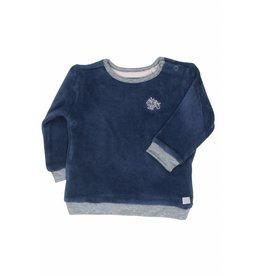 Moodstreet Baby Moodstreet Baby Sweater Petrol Blue