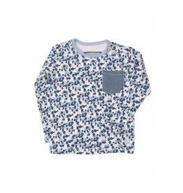 Moodstreet Baby Moodstreet Baby T-Shirt Contrast Pocket Multi mt 68