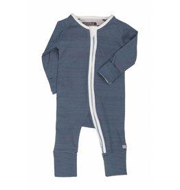 Moodstreet Baby Moodstreet Baby Suit Zipper Petrol Blue