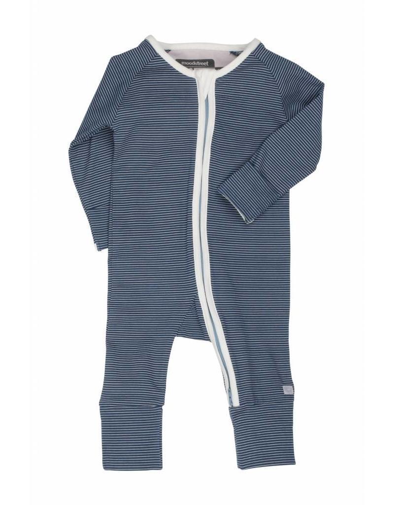 b386a0a76943a4 Moodstreet Baby Moodstreet Baby Suit Zipper Petrol Blue ...