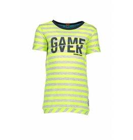 B.Nosy B.Nosy Boys Stripe Shirt Neon Yellow