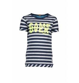 B.Nosy B.Nosy Boys Stripe Shirt MidnightBlue