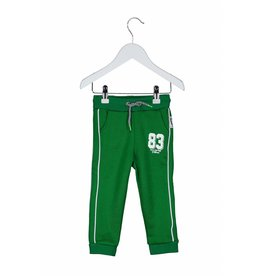 B.Nosy B. Nosy Baby Boy Sportive Pants with tape on the sides Frog