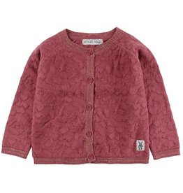 Small Rags Small Rags Hella Knit Cardigan Deco Rose