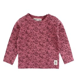 Small Rags Small Rags Hella Longsleeve T-shirt Deco Rose