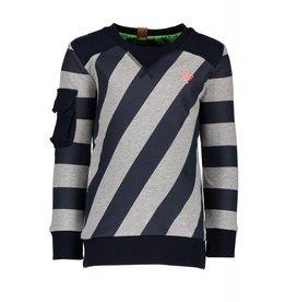 B.Nosy B. Nosy Boys Sweater with Slanted Stripes mt 134-140
