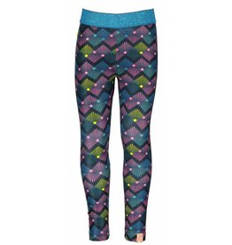 B.Nosy B. Nosy Girls All over polyester Legging Wave mt 86/92