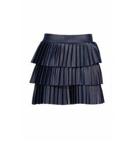 B.Nosy B.Nosy Girls Pleated Layered Skirt MidnightBlue