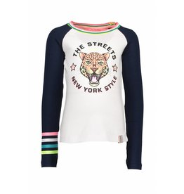 B.Nosy B.Nosy Girls Raglan Tiger Shirt