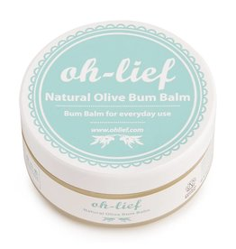 Oh lief Oh-lief Natural Olive Bum Balm 100 gram