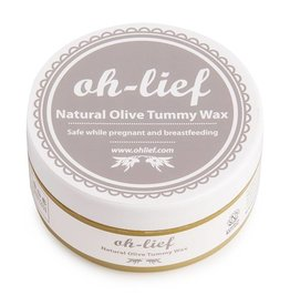 Oh lief Oh-lief Natural Olive Tummy Wax 100 gram