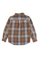 Small Rags Small Rags Huxi Longsleeve Shirt Bone Brown