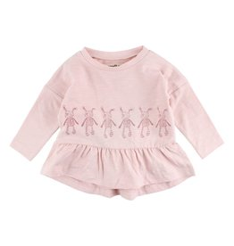 Small Rags Small Rags Hope Longsleeve T-shirt Peach Whip mt 56