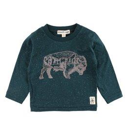 Small Rags Small Rags Hubert Longsleeve T-shirt Ponderosa Pine