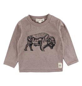 Small Rags Small Rags Hubert Longsleeve T-shirt Driftwood