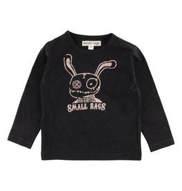 Small Rags Small Rags Hubert Longsleeve T-shirt Caviar