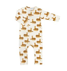 Trixie Trixie onesie long Cheetah mt 50/56