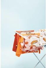 CarlijnQ Sandwiches T-shirt short sleeve drop back