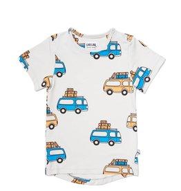 CarlijnQ Road Trippin - t-shirt short sleeve drop back