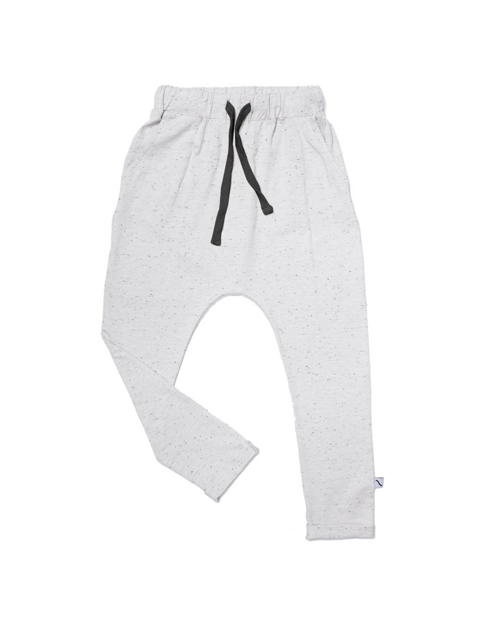 CarlijnQ Basics - grey sweatpants with pockets