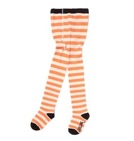 CarlijnQ Tights - stripes peach/off white