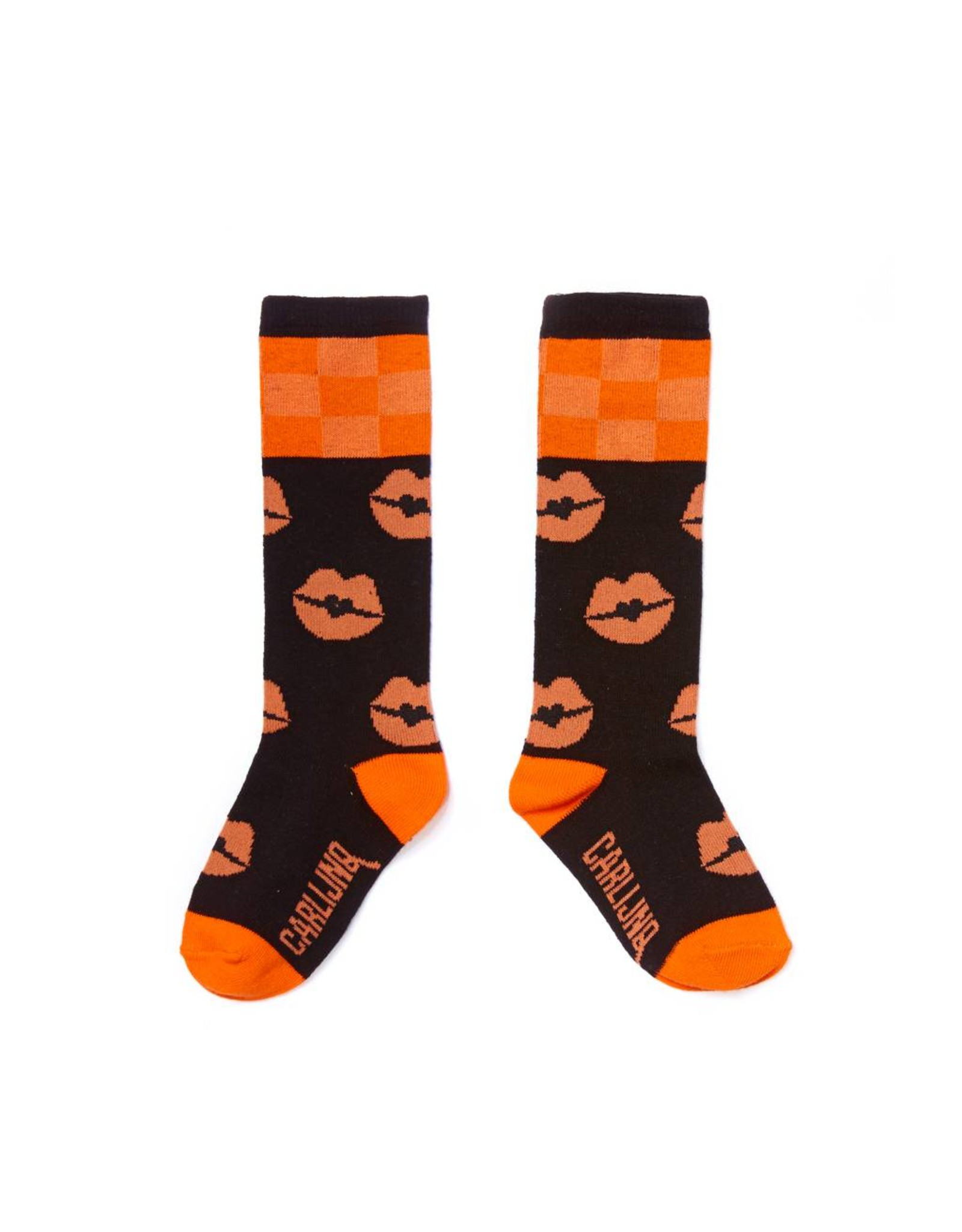 CarlijnQ Knee Socks - kiss goodbye