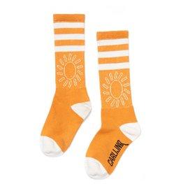 CarlijnQ Knee Socks - big sun