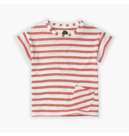 Sproet & Sprout Sproet & Sprout T-shirt Stripe Red