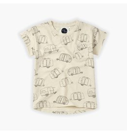 Sproet & Sprout Sproet & Sprout T-shirt Caravan all over print