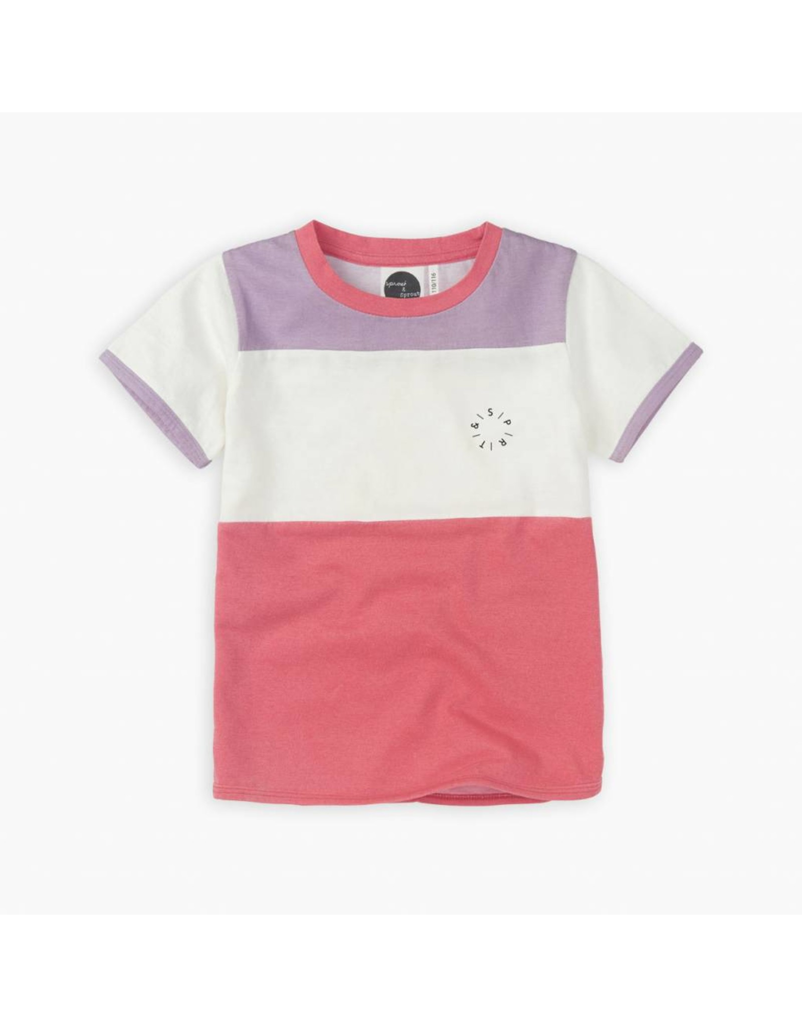 Sproet & Sprout Sproet & Sprout T-shirt Colourblock