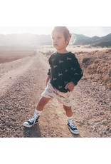 Sproet & Sprout Sproet & Sprout Sweat Short Caravan All over print