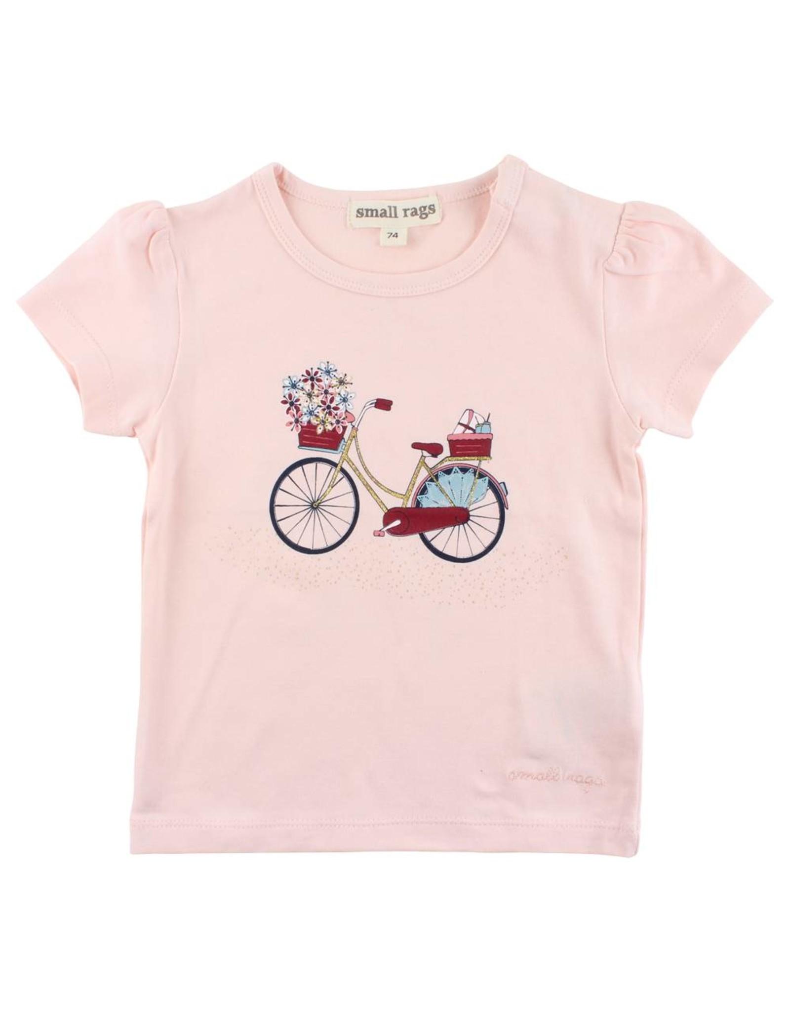 Small Rags Small Rags T-shirt Bike Pearl Blush