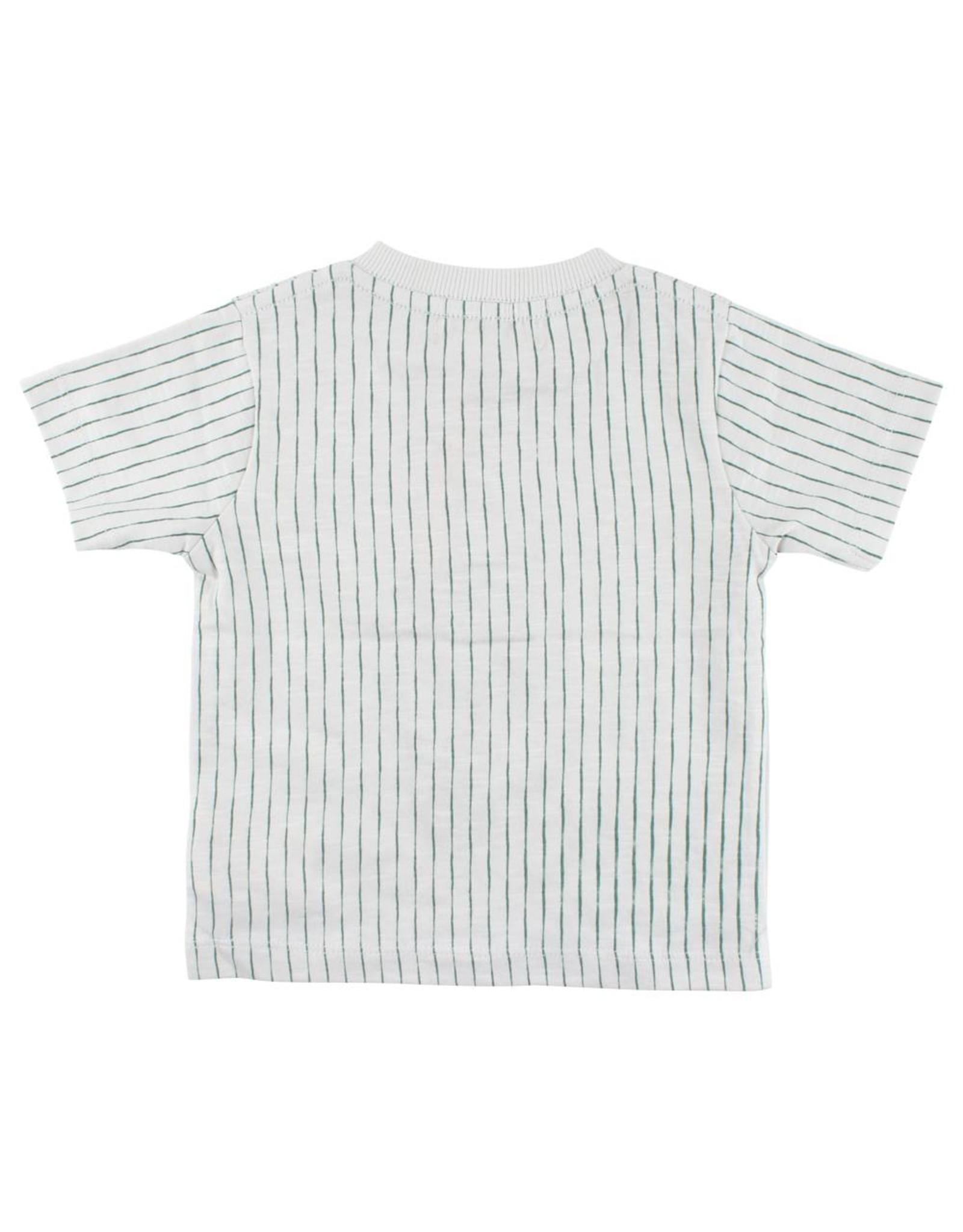 Small Rags Small Rags T-shirt Stripe Foggy Dew